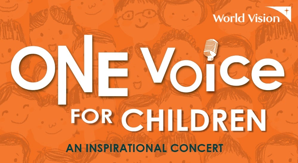 """World Vision's """"One Voice for Children"""" Virtual Concert with Celebrity Ambassadors and Advocates"""
