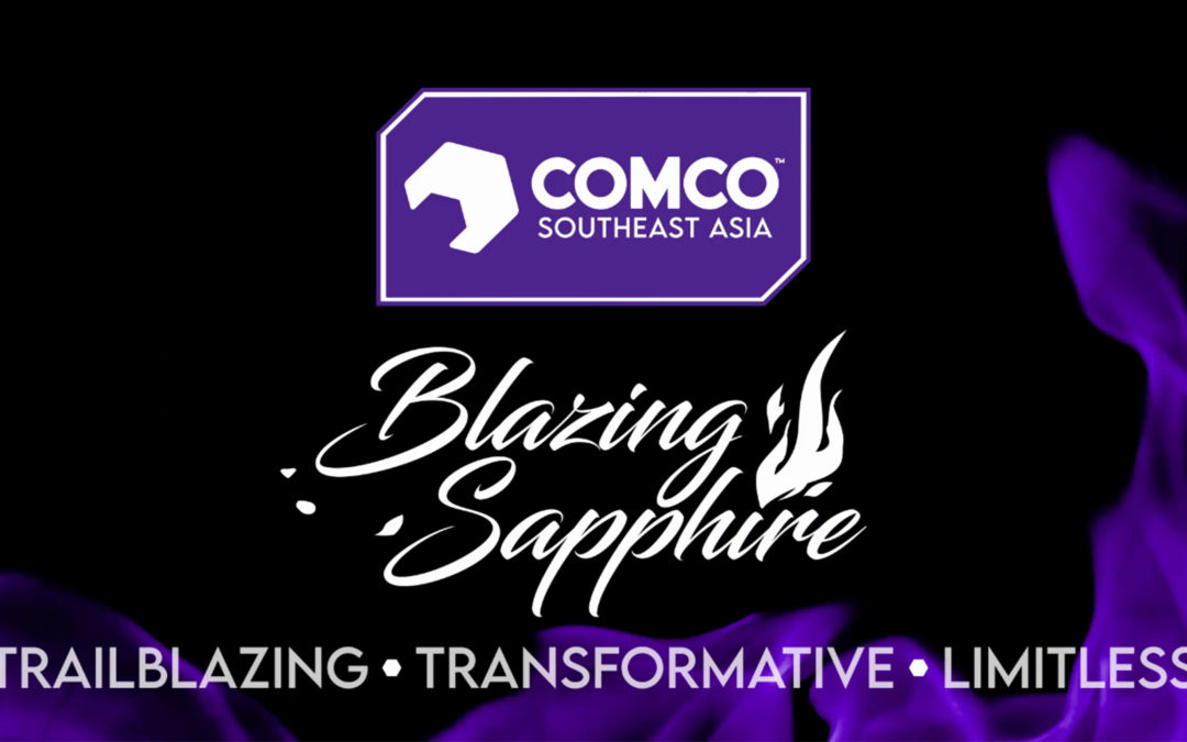 ComCo Southeast Asia kicks off Blazing Sapphire Anniversary Celebration with Brand Evolution, New Metals and Pitch Wins