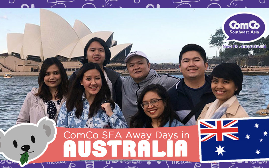 The ComCo Squadron goes to the Land Down Under!