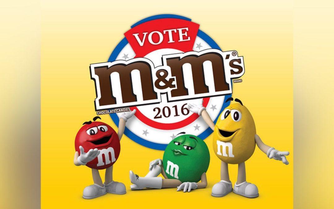 Bringing in the Fun in Election Season: The Vote M&M's 2016 Campaign