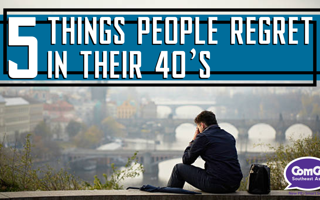 The Medical City on Five Things People Regret in Their 40s