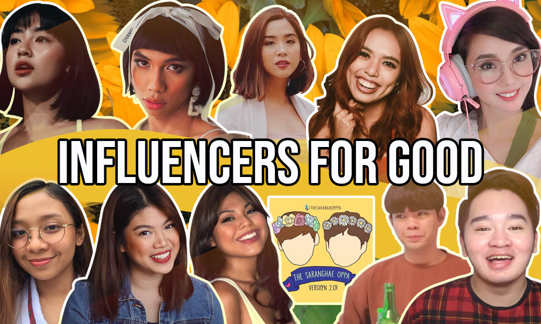 Influencers for Good