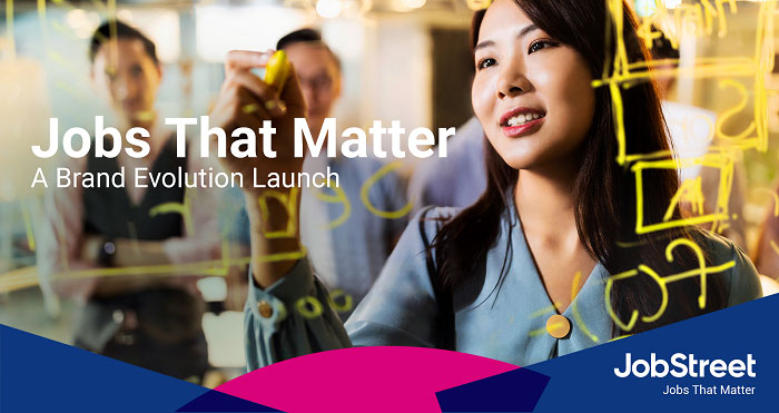 JobStreet unveils brand evolution, highlights Jobs That Matter