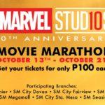 Marvel Movie Marathon SM Cinema ComCo SEA New PR Smart Social Best Agency