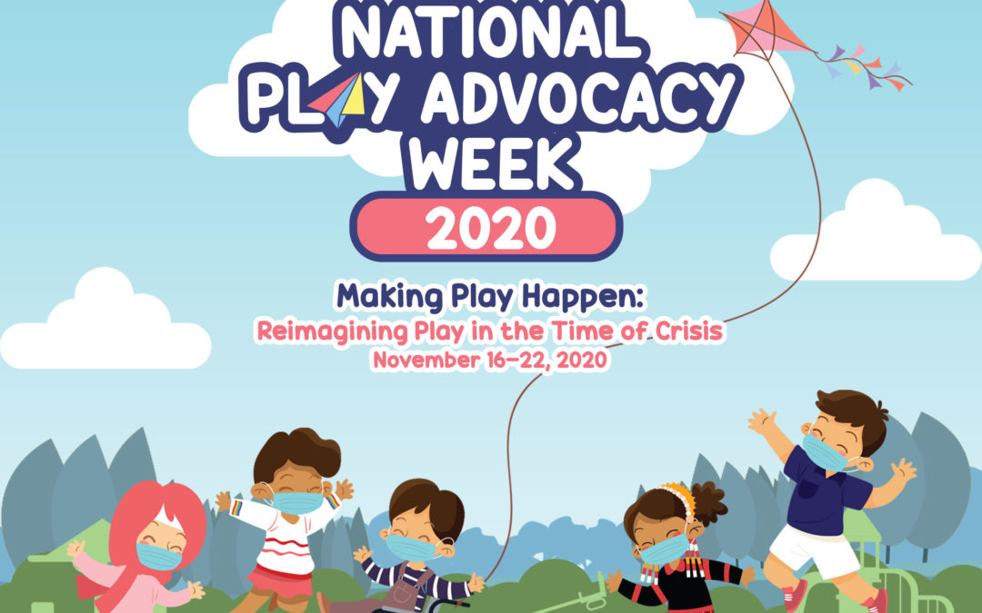 NPAW 2020 Highlights The Importance of Play Amidst the Time of Pandemic