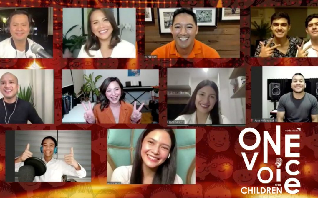 """World Vision Ambassadors Come in Full Force for the """"One Voice for Children"""" Virtual Concert"""