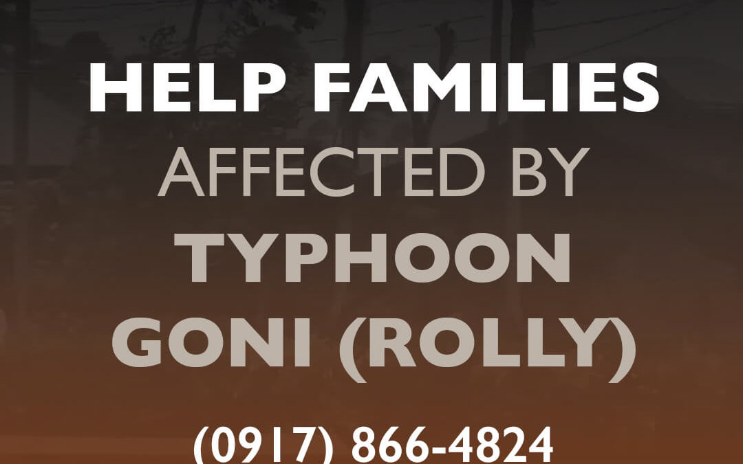 World Vision deploys response team to super typhoon-stricken Bicol provinces