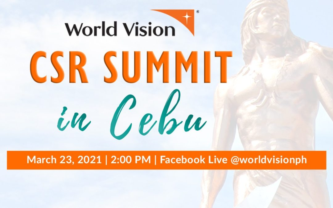Top Business Leaders in Cebu converge for World Vision's 2nd virtual CSR Summit