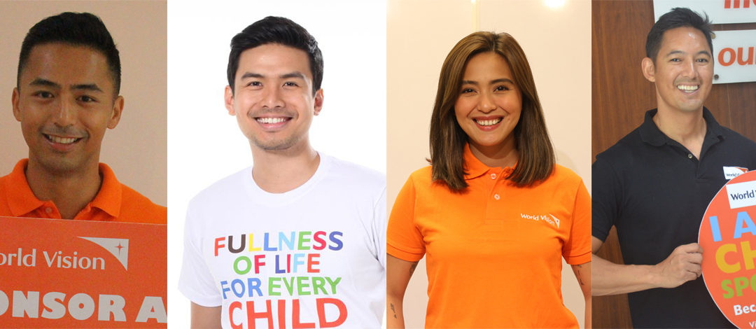 Celebrities support World Vision in bringing hope during these difficult times