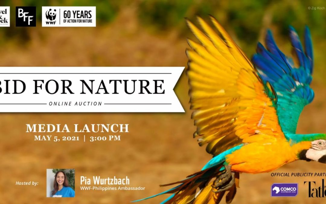 """WWF-Philippines Celebrates 60th Anniversary with """"Bid for Nature"""" Online Auction"""