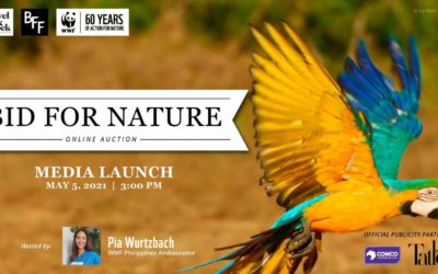 "WWF-Philippines Celebrates 60th Anniversary with ""Bid for Nature"" Online Auction"