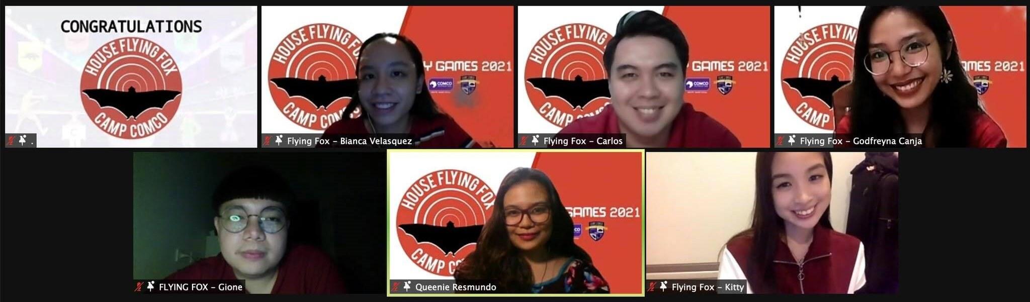 Camp ComCo Unity Games 2021 - House Flyingfox