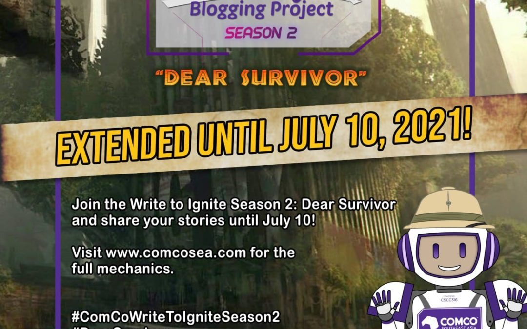 """ComCo Southeast Asia's """"Write to Ignite"""" Season 2 Extended Until July 10!"""