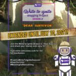 ComCo Southeast Asia Write to Ignite Blogging Project Season 2 Dear Survivor Extended Submission