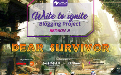 """ComCo Southeast Asia opens a bigger and bolder 2nd Season of """"Write to Ignite Blogging Project"""""""