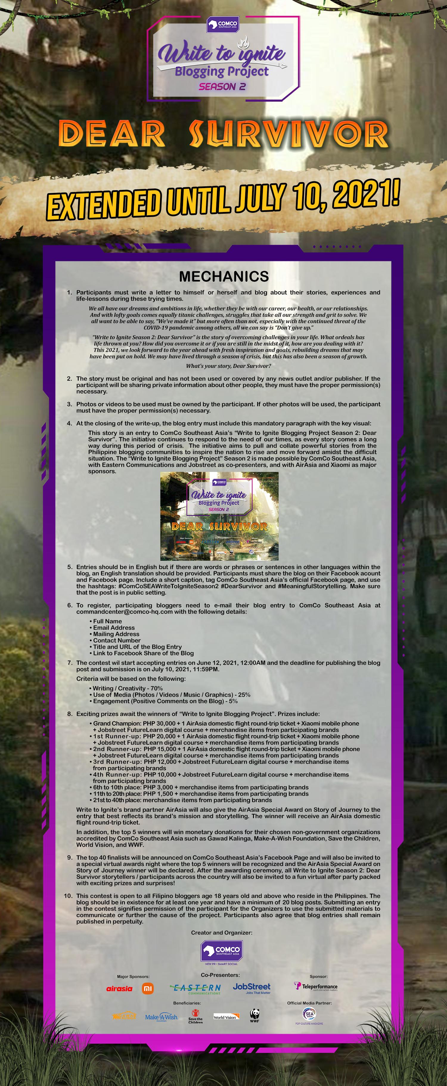 Write to Ignite Season 2 Mechanics_Extension 2