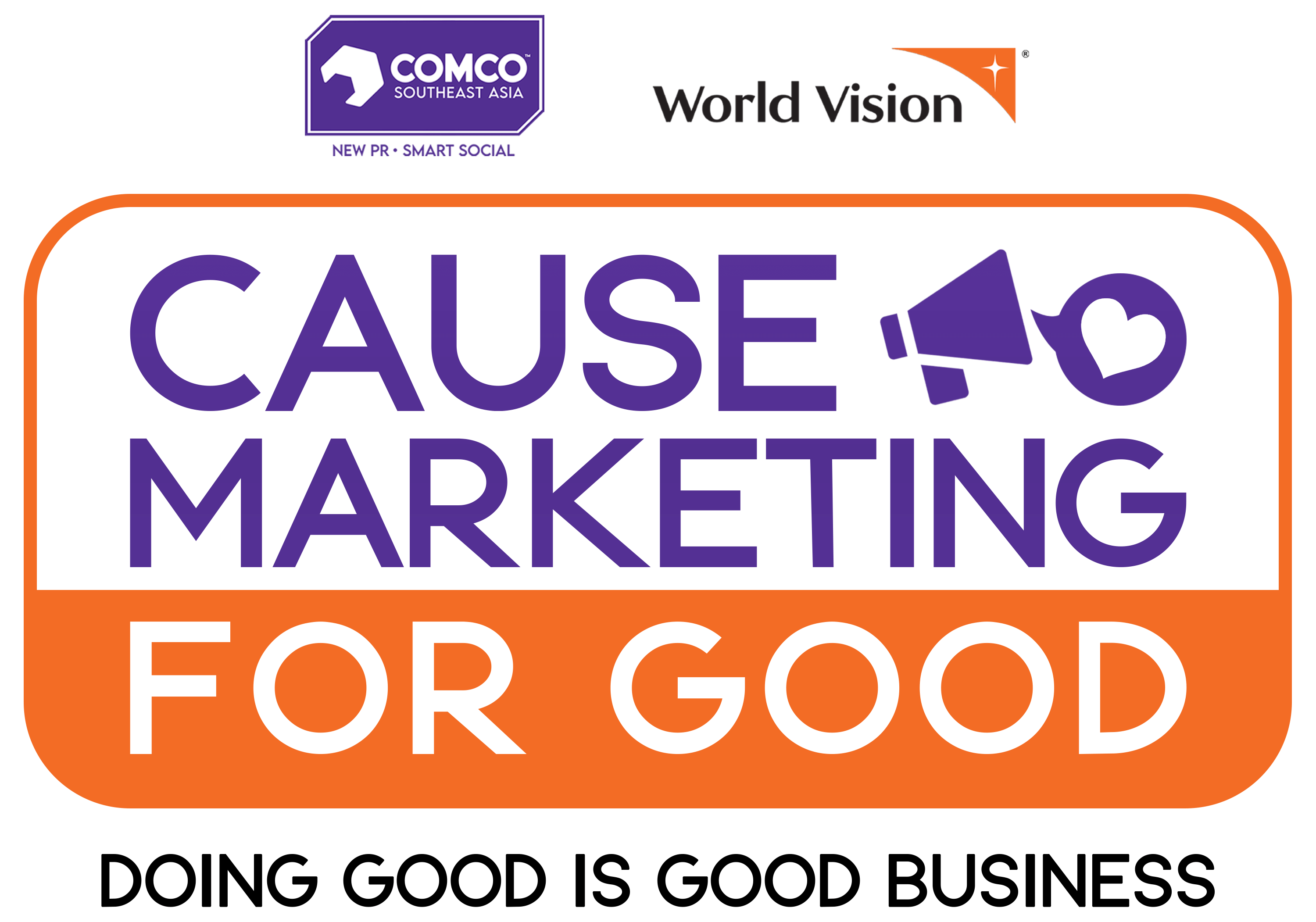 World Vision ComCo Southeast Asia - Cause Marketing for Good Logo