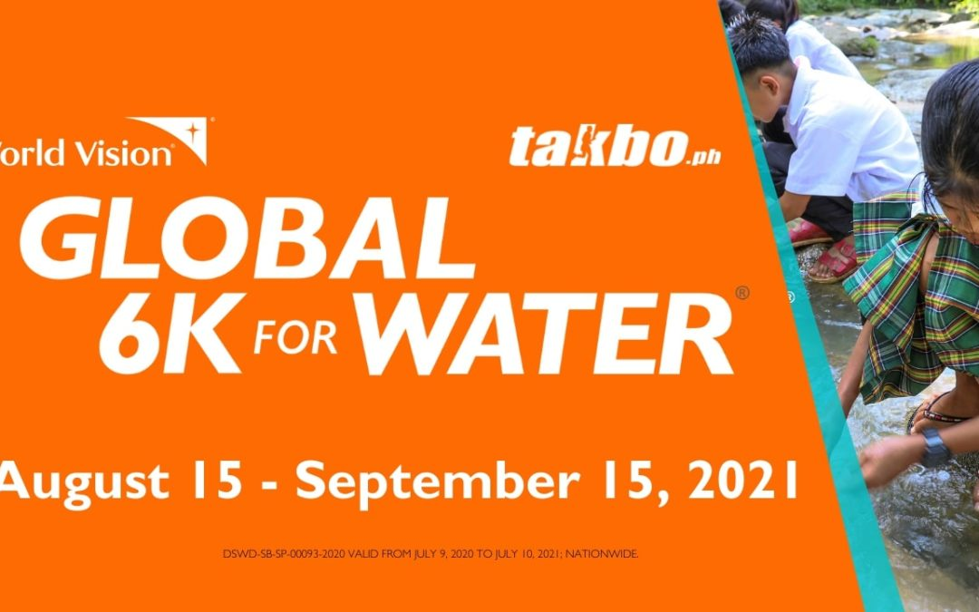 World Vision invites you to run for clean water in Global 6K Run