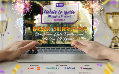 ComCo Southeast Asia Breaks Record, Honors the Great 108 Storytellers of Write to Ignite Blogging Project Season 2: Dear Survivor