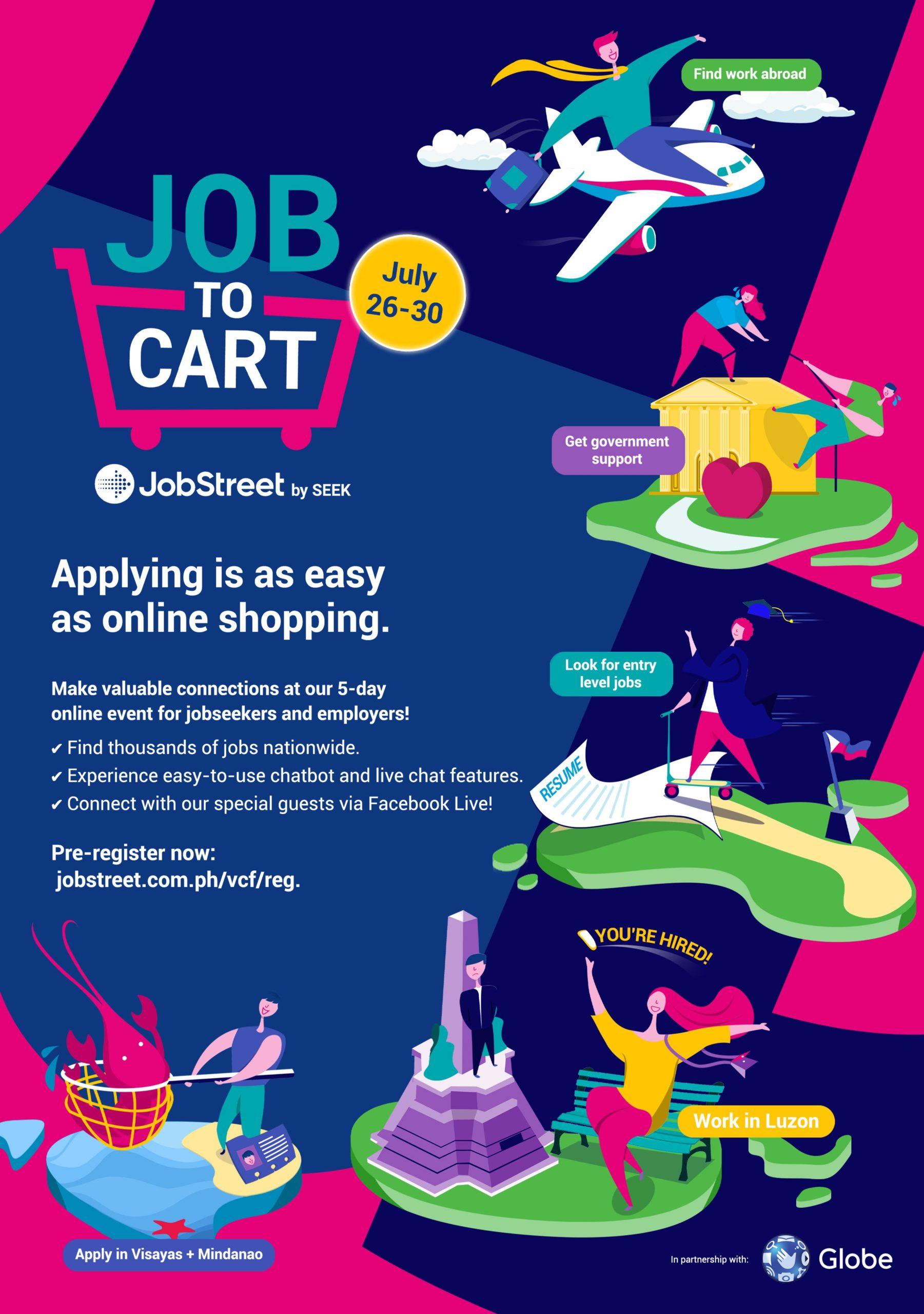 ComCo SOutheast Asia - New PR Smart Social - Job to Cart - Jobstreet